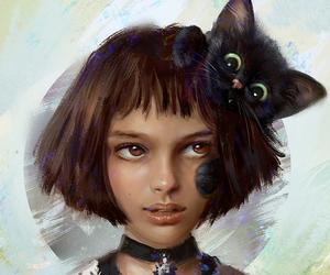 chat, mathilda, and deviantart image