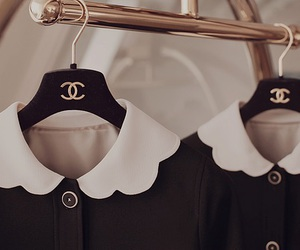 chanel, clothes, and black image