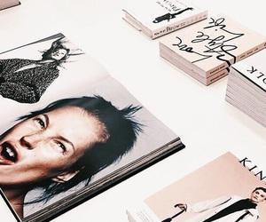 magazine, white, and aesthetic image