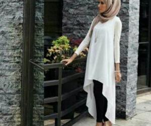hijab, feet, and style image