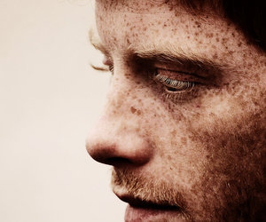 cils, handsome, and freckles image