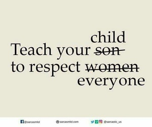 child, respect, and teach image