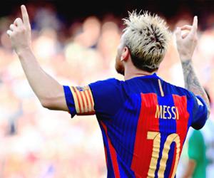 fc barcelona and messi image