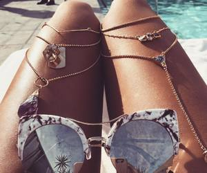 summer, sunglasses, and fashion image