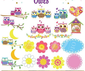 bird, cute owls, and etsy image