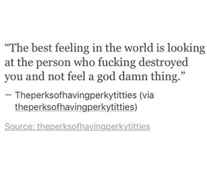 destroyed, heartbreak, and quote image