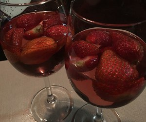 strawberry, red, and aesthetic image