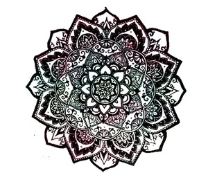 mandala, drawing, and wallpaper image