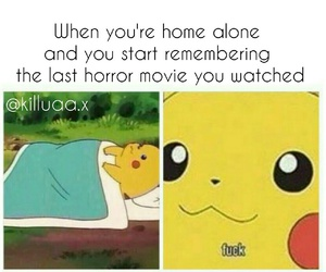 anime, funny, and horror movie image