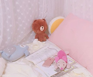 adorable, piglet, and pillow image