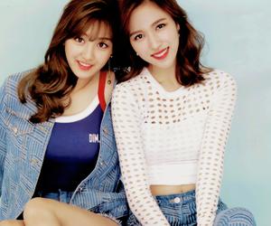twice, mina, and jihyo image