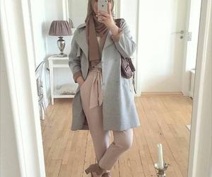 hijab, fashion, and style image