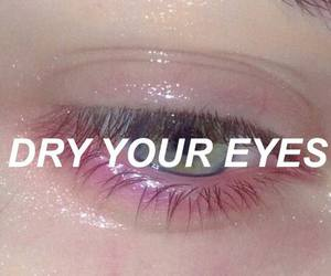 aesthetic and purple eyes image