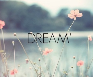 Dream, flowers, and quotes image