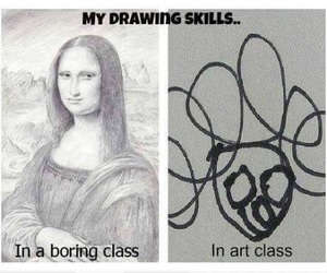 funny, drawing, and art image