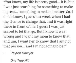 inspiration, one tree hill, and quote image