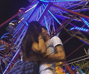 couple, boyfriend, and kiss image