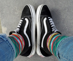hipster, oldschool, and vans image