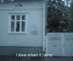 rain, grunge, and quotes image