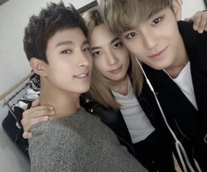Seventeen, mingyu, and DK image