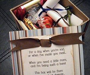 box, gift, and idea image
