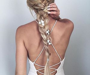 braids, fashion, and look image