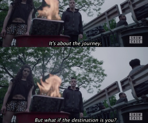 destination, journey, and life image