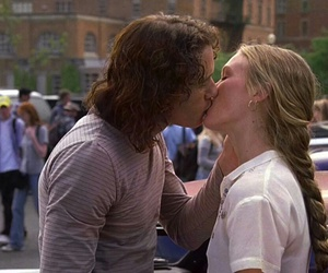 10 things i hate about you, kiss, and heath ledger image