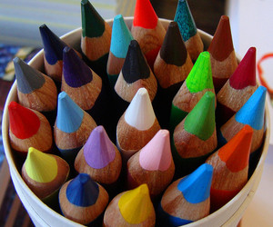 colored pencils, colour, and europe image
