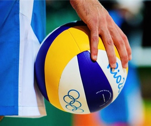 fitness, volley, and voleibol image