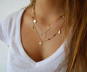 necklace and gold image
