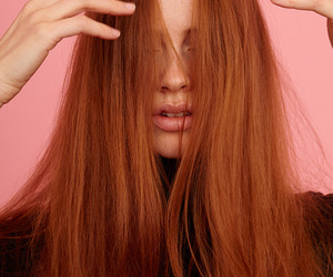 ginger, pink, and red hair image