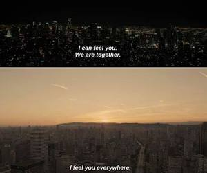 couple, movie, and quotes image