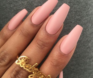matte, Nude, and pink image