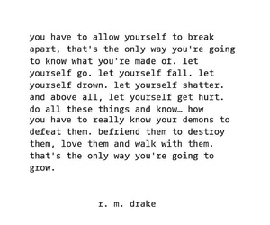 quote, text, and rmdrake image