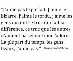bizzare, french, and quote image