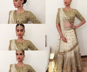 bollywood, indian, and sonam kapoor image