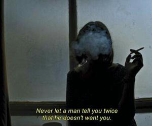cigarette, grunge, and heart broken image
