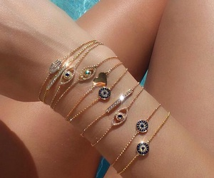 bracelet, photography, and pool image