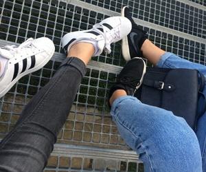 adidas, nike, and shoes image