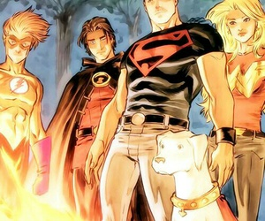 teen titans, tim drake, and red robin image
