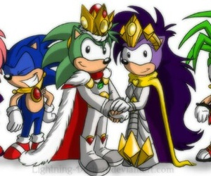 king, Queen, and sega image