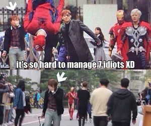 got7, funny, and JB image