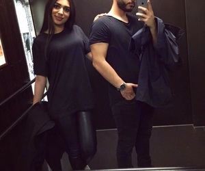 couple, love, and allblackeverything image