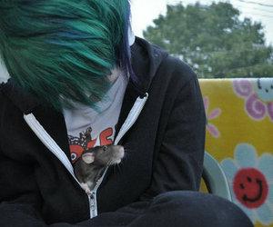 boy, hair, and rat image