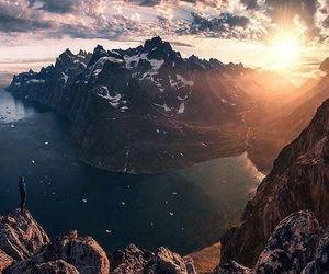 nature, beautiful, and mountains image