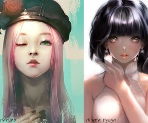naruto, haruno sakura, and sakura haruno image