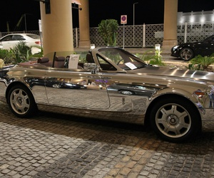 car, luxury, and silver image