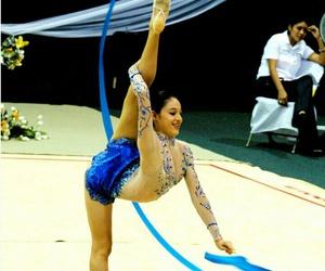 ribbon, rhytmic gymnastic, and méxico image