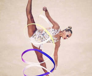ribbon, yana kudryavtseva, and rhytmic gymnastic image